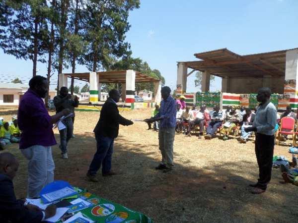 Comunidades e Associações Agropecuárias beneficiam da legalização das suas terras no distrito de Tsangano, província de Tete